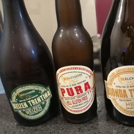 -Non solo vino da Movino... Anche magnifiche birre artigianali non filtrate dal Trentino.