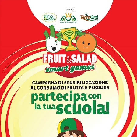 -Parte la prima edizione di Fruit e Salad Smart Games