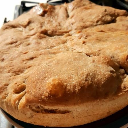 -Pizza di scarole con farina mix
