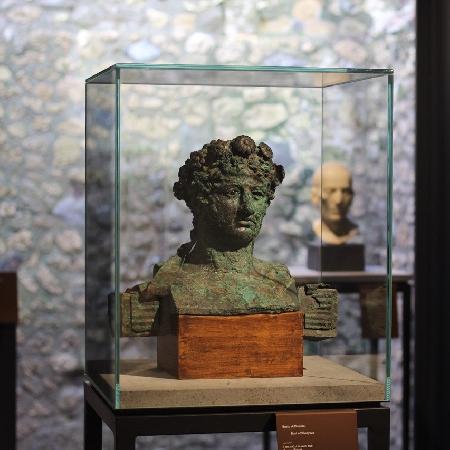 -Testa di Dioniso Antiquarium Pompei