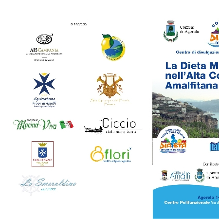 -locandina Convegni Dieta Mediterranea nell'alta costa Amalfitana