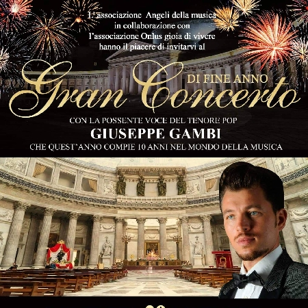 -locandina concerto di Natale Tenore Giuseppe Gambi