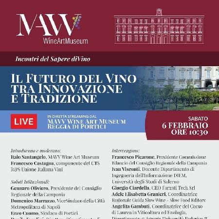 -locandina futuro del vino tra Innovazione e tradizione