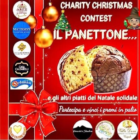 -locandina iniziativa Charity Christmas il Panettone