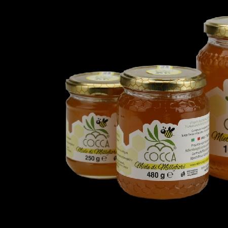 -miele millefiori cocca azienda agricola
