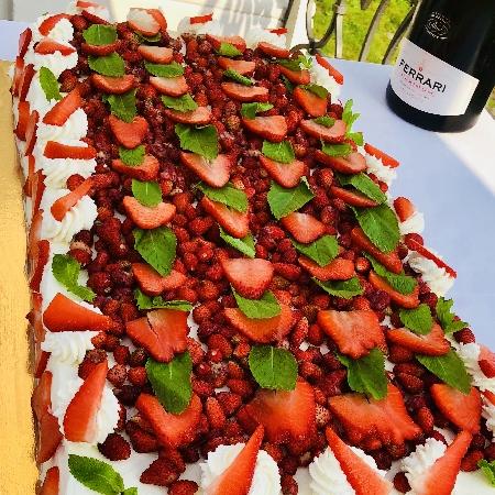 -torta di fragole