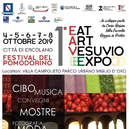 1° Eat Art Vesuvio Expo - Festival del Pomodorino
