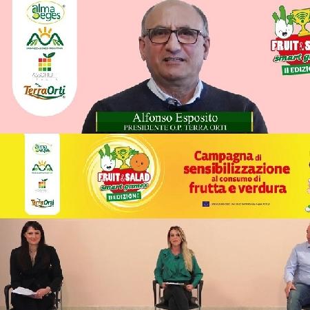 A Fruit and Salad Smart Games si parla di rucola con Alfonso Esposito