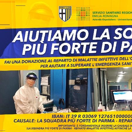 AIUTIAMO LA SQUADRA PIÙ FORTE DI PARMA!