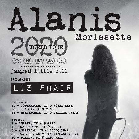 Alanis Morissette World Tour 2020