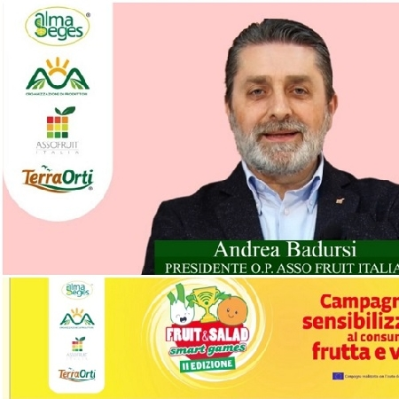Andrea Badursi a Fruit and Salad Smart Games parla della fragola