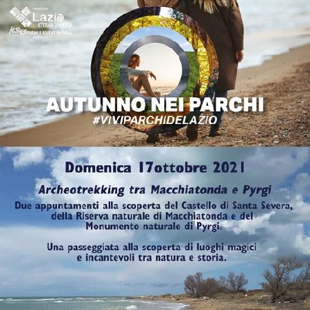 Archeotrekking fra Macchiarotonda e Pyrgi