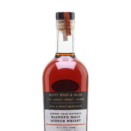 Berry Bros. and Rudd Sherry Cask Scotch Whisky