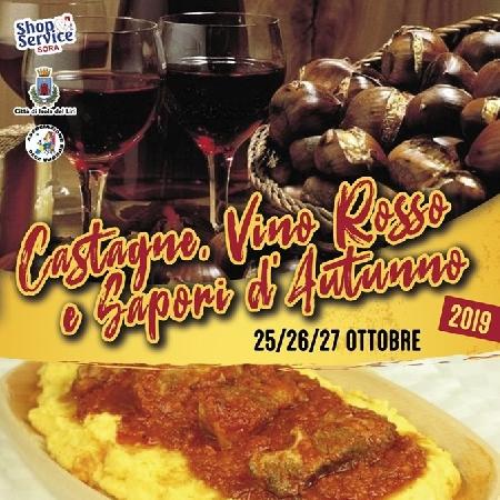 Castagne, Vino Rosso e Sapori d'Autunno