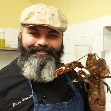 Chef Oscar Gambino