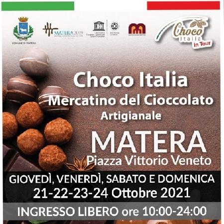 Choco Italia in tour a Matera