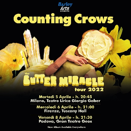 Counting Crows - The Butter Miracle Tou 2022