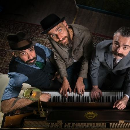 Crew del The Jerry Thomas Speakeasy di Roma - Credito foto: Alberto Blasetti