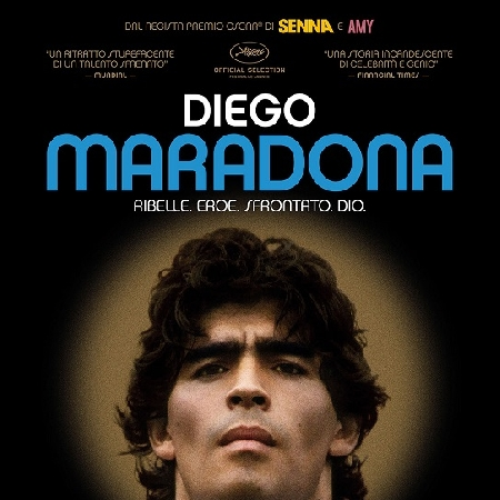 DIEGO MARADONA di A. Kapadia, anteprima a Napoli 16 settembre al cinema Modernissimo