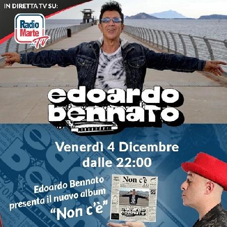 Edoardo Bennato presenta Non c'è su Radio Marte venerdì 4 dicembre ore 22