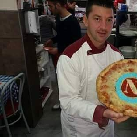 Errico Porzio e pizza Napoli