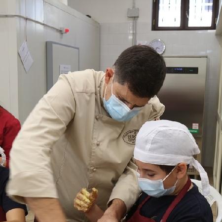 Evento sensoriale da Francesco Di Rosa. A Giugliano (Na), dalla scuola alla pasticceria.