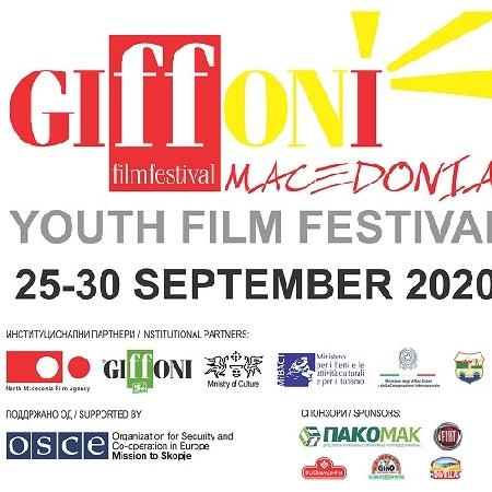 GIFFONI MACEDONIA YOUTH FILM FESTIVAL: L'OTTAVA EDIZIONE DAL 25 AL 30 SETTEMBRE A SKOPJE TRA CINEMA, CULTURA E DIGITALE