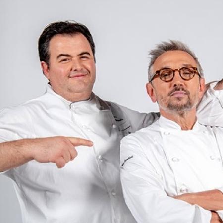 Gli chef Esposito, Barbieri e Tomei