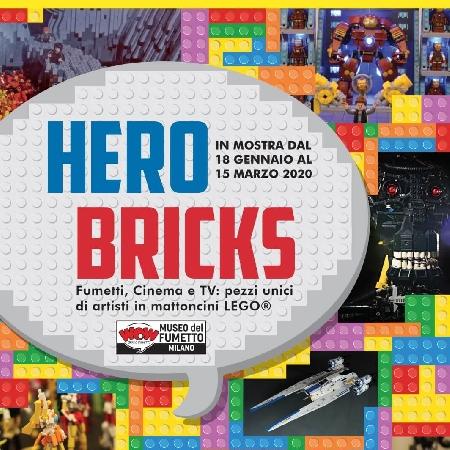 Hero Bricks in mostra