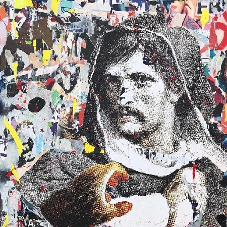 Il Canto di Circe, il trittico di Nello Petrucci omaggio a Giordano Bruno