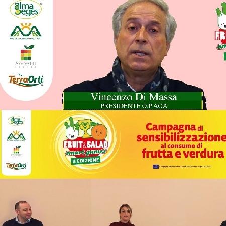 Il Pomodoro protagonista di Fruit and Salad Smart Games con Vincenzo Di Massa