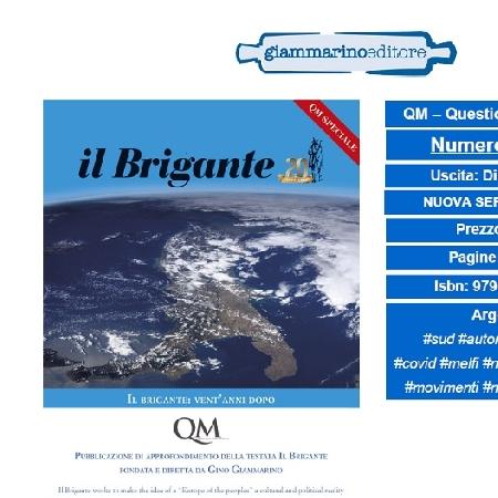 In distribuzione la rivista QM - Questione Meridionale