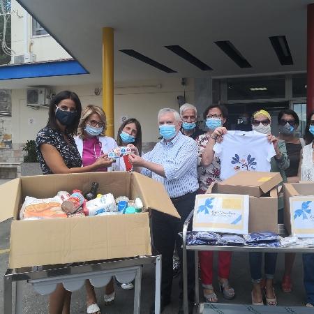 L'Associazione Raggio di Sole dona materiale anti Covid-19 all'AORN Santobono-Pausilipon