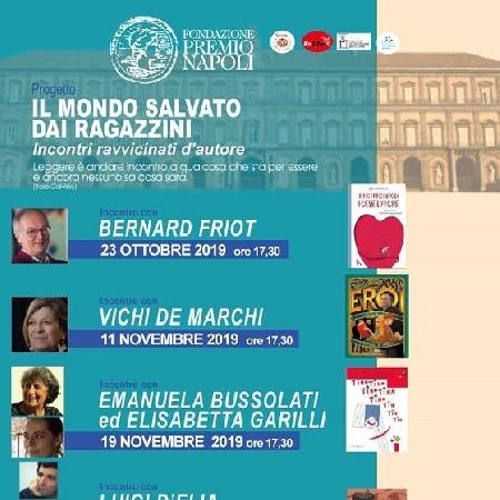 La Fondazione Premio Napoli ospita il terzo incontro ravvicinato d'autore del progetto