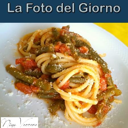La Foto del Giorno del 15 Settembre 2021 - Spaghetti con fagiolini