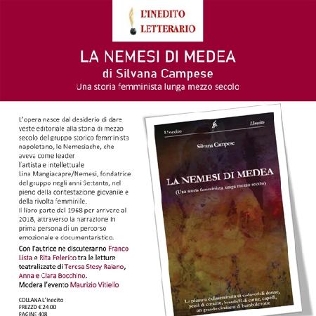 Locandina presentazione Nemesi di Medea