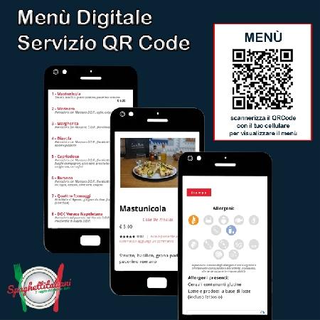 Menù Digitale e Servizio QRCode