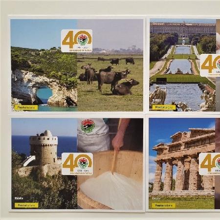 Mozzarella di Bufala Dop, cartoline e annullo speciale per i 40 anni del Consorzio di Tutela