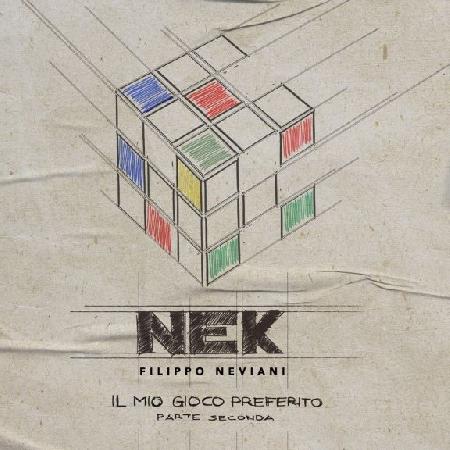 NEK - cover album Il mio gioco preferito - parte seconda