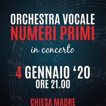 Orchestra vocale Numeri Primi in concerto