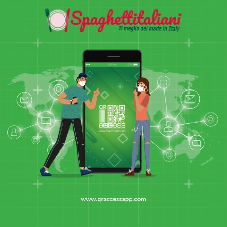 Partnership fra QrAccessApp e spaghettitaliani