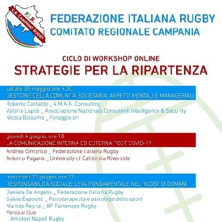 Partono tre workshop formativi destinati ai Club