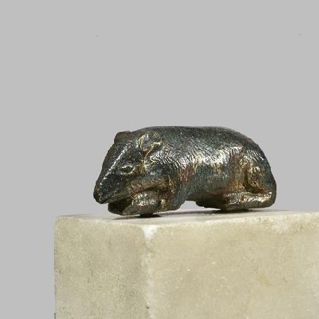 Per il Capodanno cinese, esposte, per la prima volta al Mann, quattro statuine bronzee raffiguranti topi
