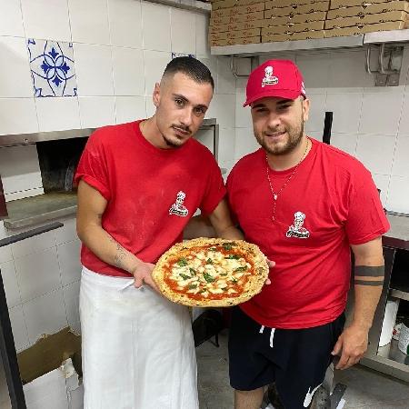 Pizzeria Zamparelli - lo staff della pizzeria