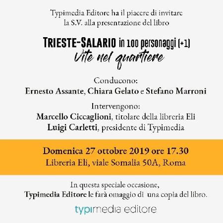 Presentazione del Libro: Trieste-Salario in 100 personaggi . Vita nel quartiere