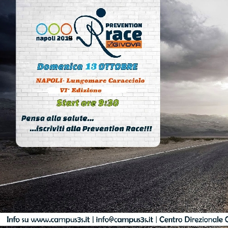 Prevention Race 2019 VI edizione