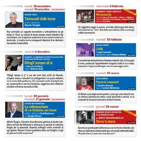 Programma Stagione Teatrale 2019/2020 - Teatro Ariston Gaeta