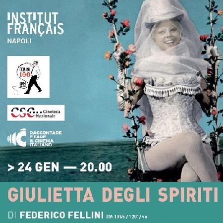 Proiezione speciale Centenario della nascita di Federico Fellini Giulietta degli Spiriti