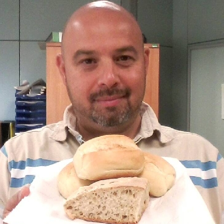 Rosario Lopa e il pane