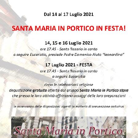 Santa Maria in Portico in Festa!